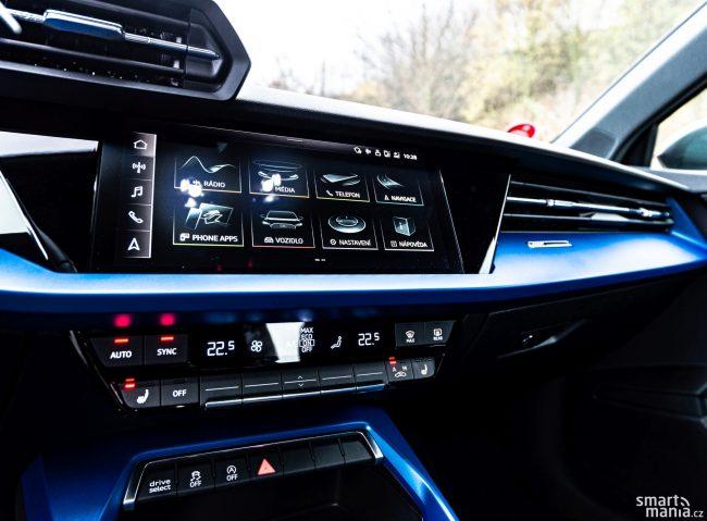 Interiér patří mezi trumfy Audi. Žádná jiná značka koncernu nepoužívá takto kvalitní materiály.