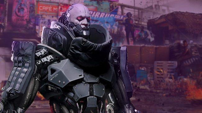 cyberpunk robot