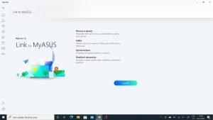Screenshot MyASUS 10