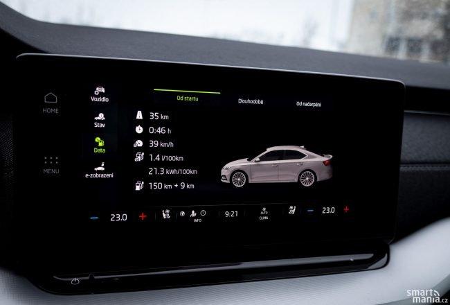 V hybridním režimu budete opravdu jezdit se spotřebou pod 2 litry.