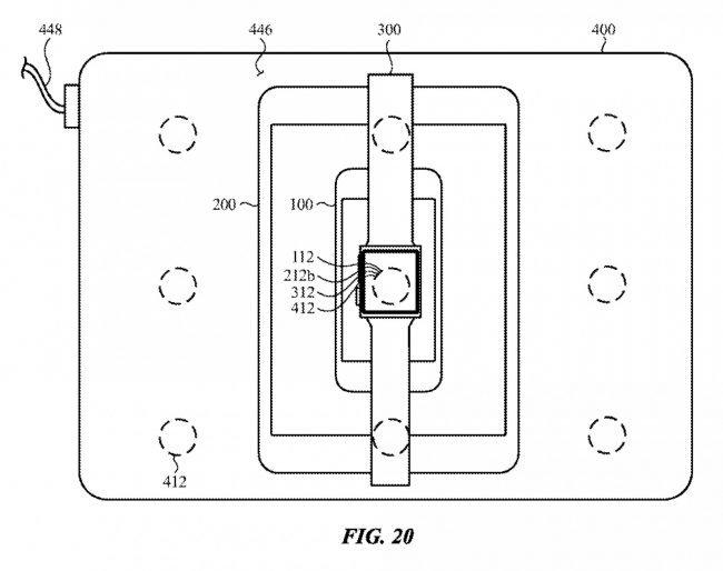 apple patent wireless charging