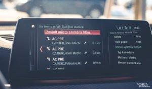 Integrovaná navigace obsahuje i nabíjecí stanice.