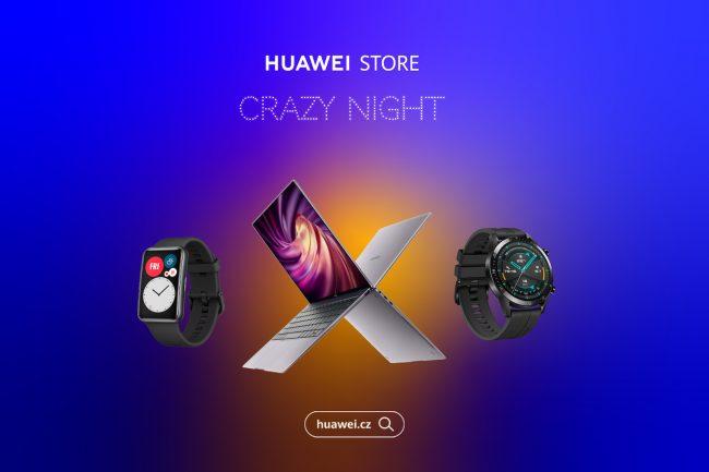 Huawei Crazy night PR