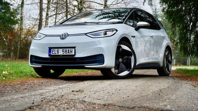 Volkswagen ID3 recenze test článek
