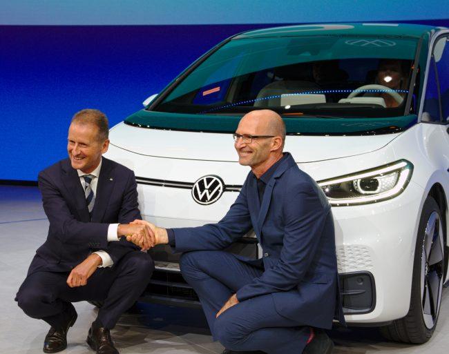 Volkswagen ID 3 herbert diess