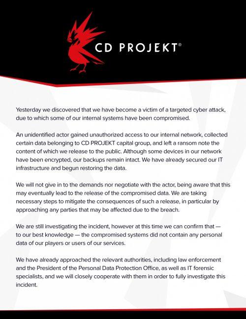 cd projekt red utok 2