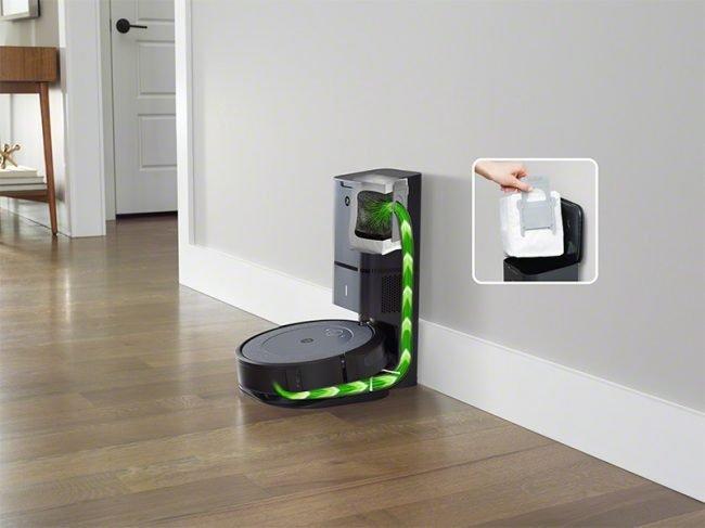 iRobot Roomba i3 Clean Base s AntiAlergen Lock