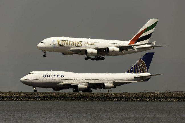 747 a380 emirates united
