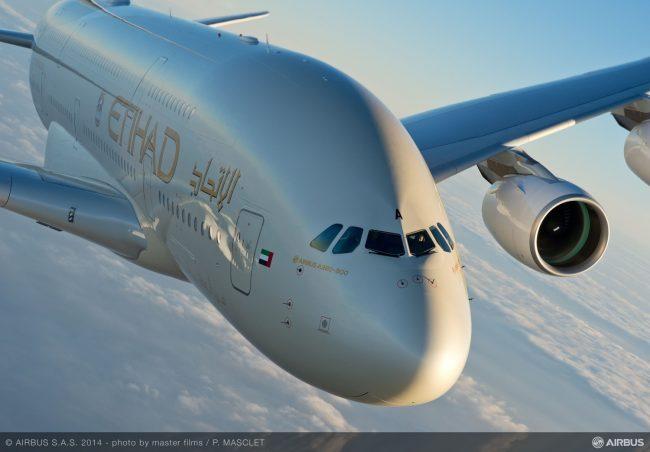 A380 Etihad In flight 5