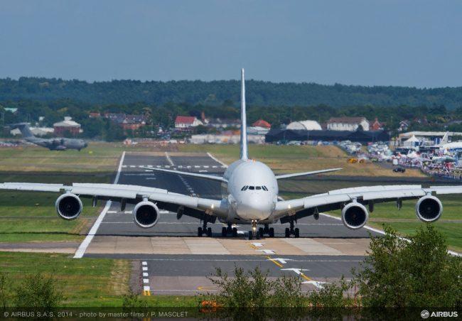 Day 4 Flight demo A380 5