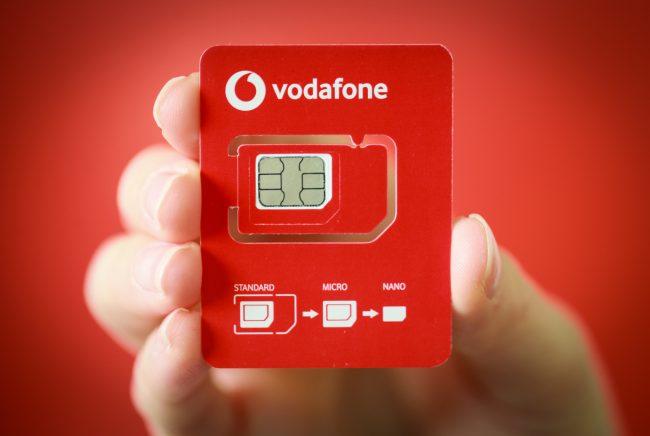 SIM Vodafone 02