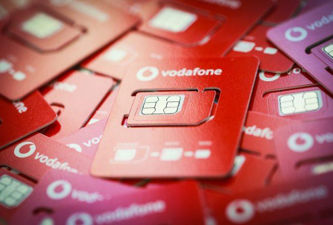 SIM Vodafone 03