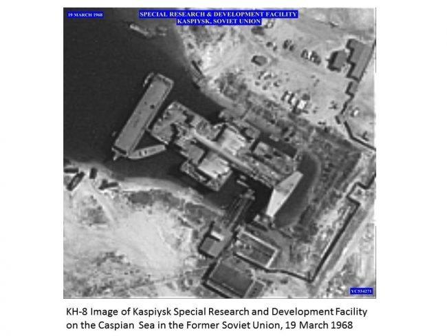 Kaspiysk satelit kaspicka prisera 1968