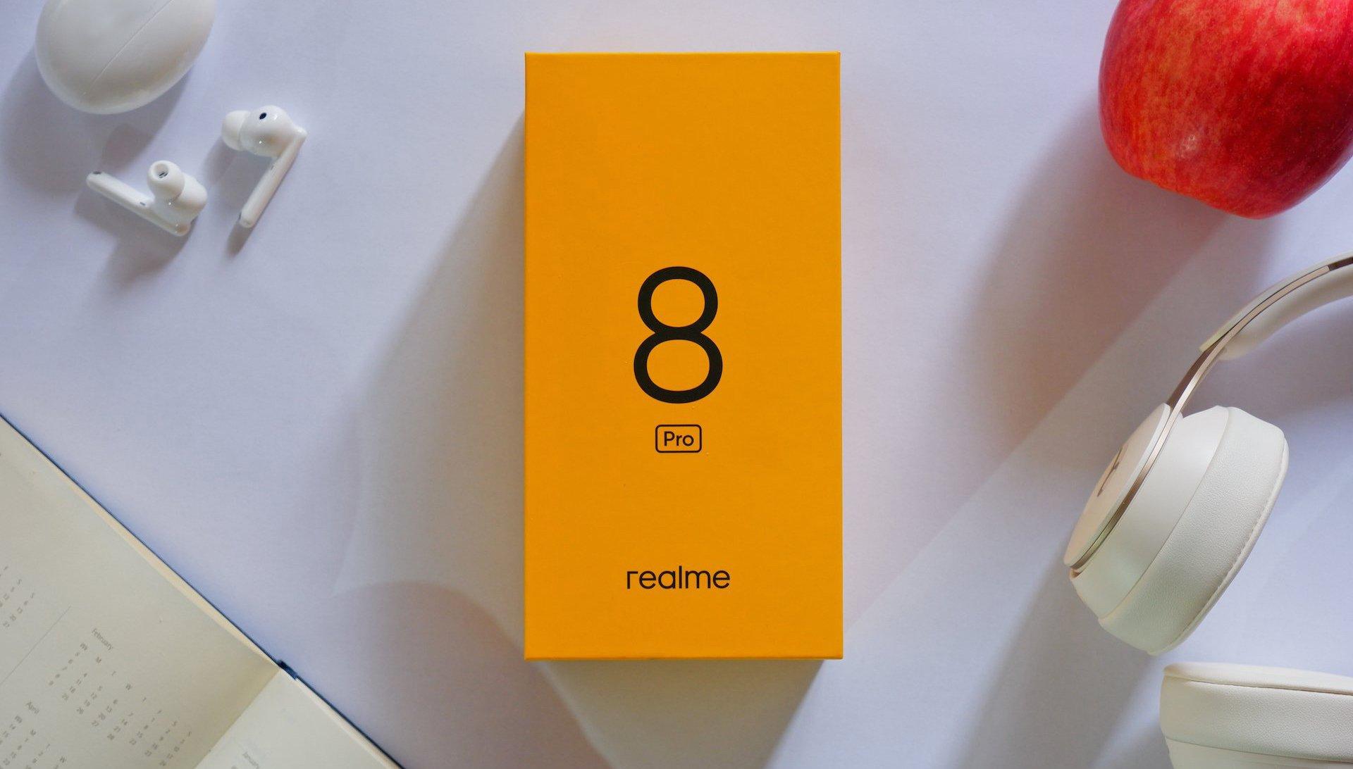 Realme 8 Pro soutez