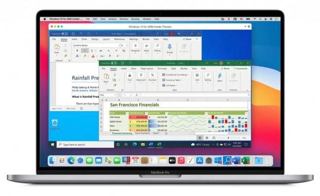Windows on Mac