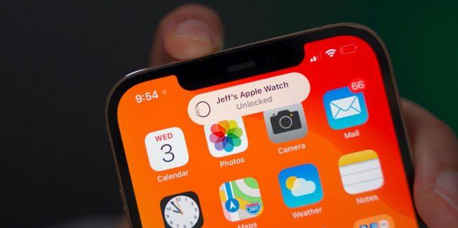 apple watch unlock