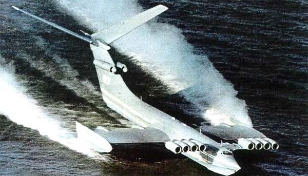 ekranoplan caspian sea monster 2