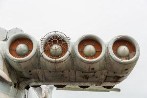 ekranoplan lun motor
