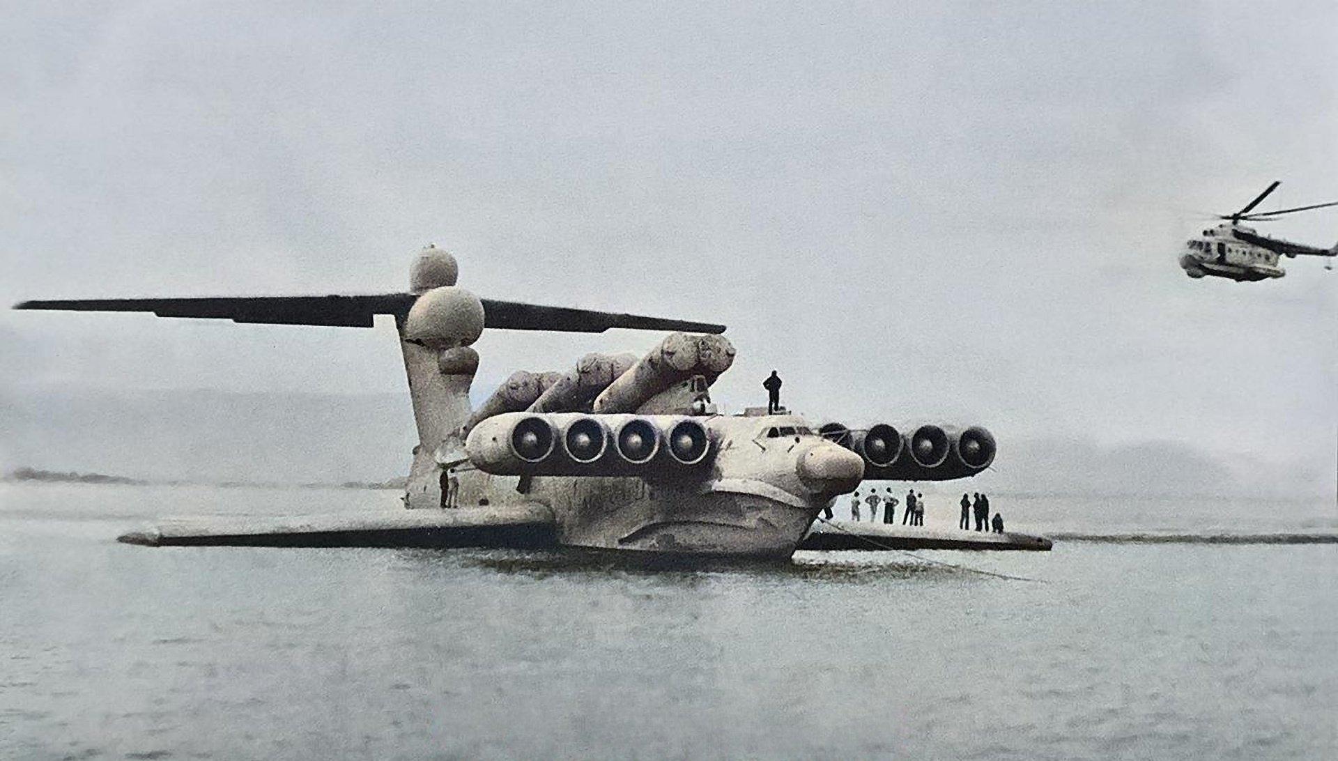 """Sovětská """"Kaspická příšera"""" zamotala hlavu CIA. Její nástupce měl nepozorovaně ničit západní lodě"""