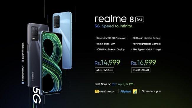 realme 8 5G 2