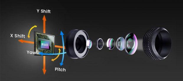sensor shift