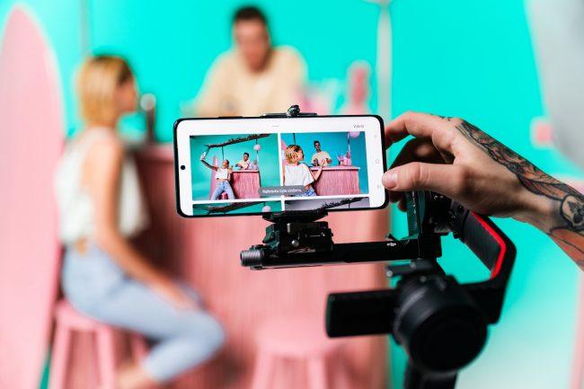 Galaxy S21 Ultra videoklip