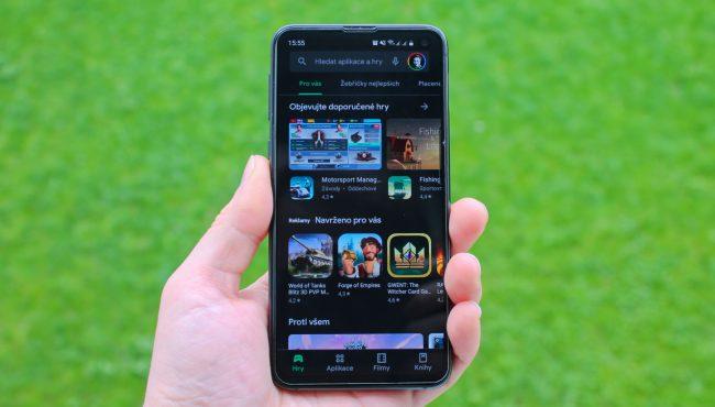 Google Obchod Play aplikace