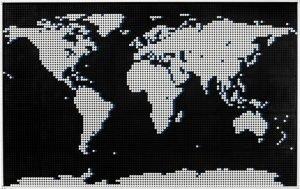 Lego Art World Map 3