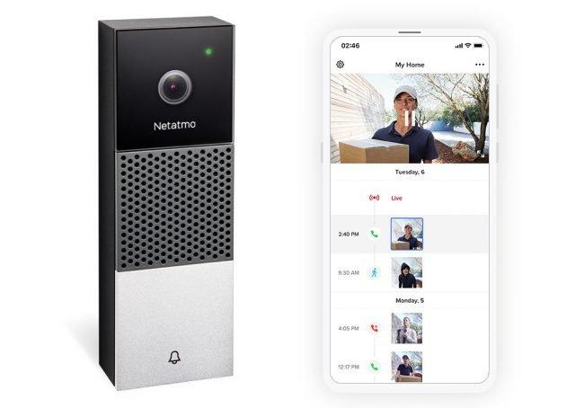 Netatmo doorbell 2