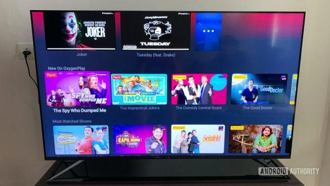 OnePlus TV U Series Oxygen Play