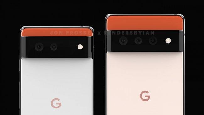 Pixel 6 a 6 Pro 1