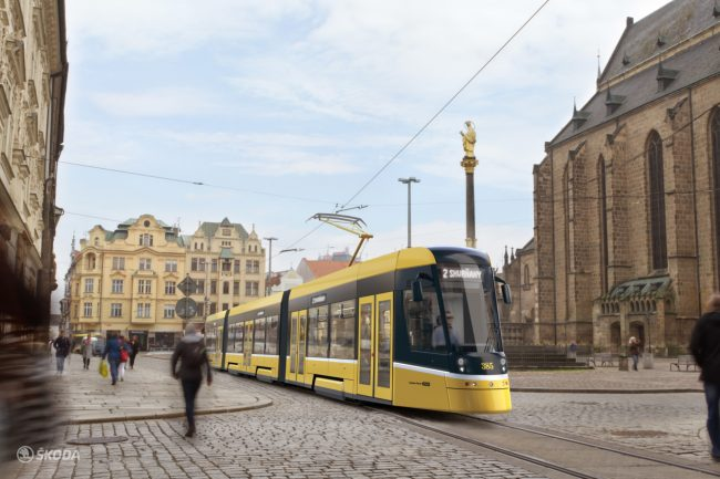 Plzen tramvaj 1