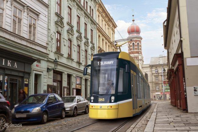 Plzen tramvaj 3