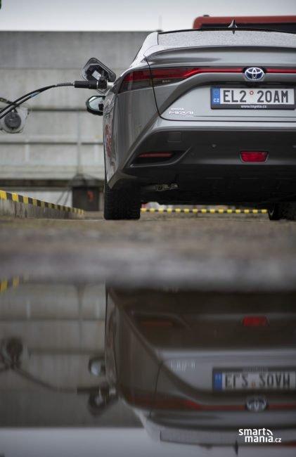 Vypustit loužičku: jedinou emisí je čistá voda.