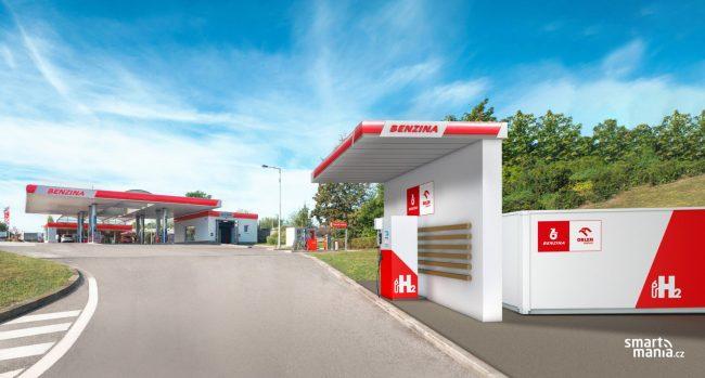 Unipetrol slibuje první tankovací stanici na vodík už letos.