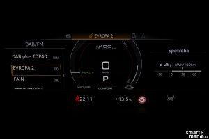 Audi etron GT displeje 01