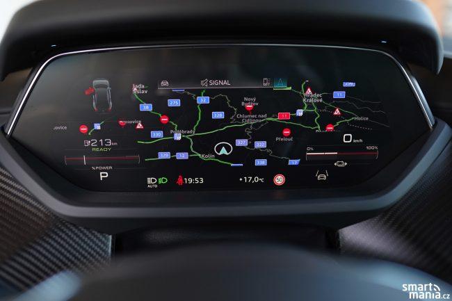 Audi etron GT displeje 03