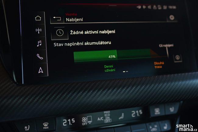 Audi etron GT displeje 07