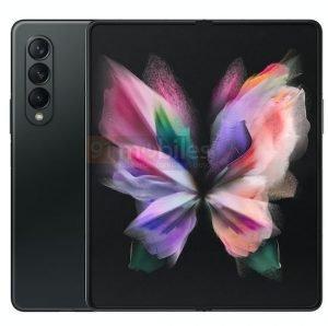 Galaxy Z Fold 3 Black 1