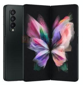 Galaxy Z Fold 3 Black 2