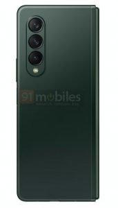 Galaxy Z Fold 3 Green 5