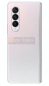 Galaxy Z Fold 3 pink 5
