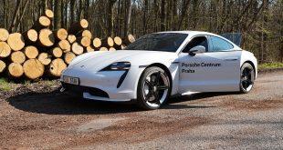 Porsche Taycan recenze test