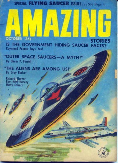 Amazing Stories October 1957