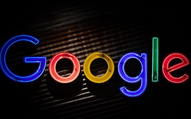 Google logo mitchell luo unsplash
