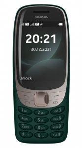 Nokia 6310 green