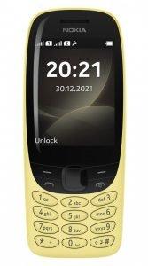 Nokia 6310 yellow