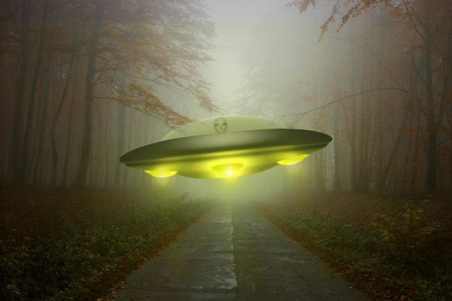 ufo ilustrace