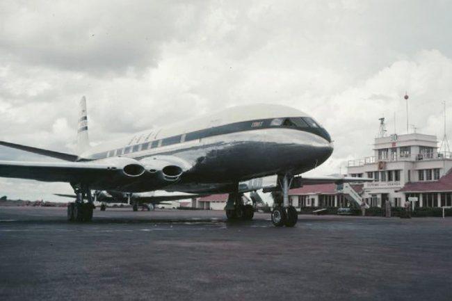 BOAC Comet 1952 Entebbe