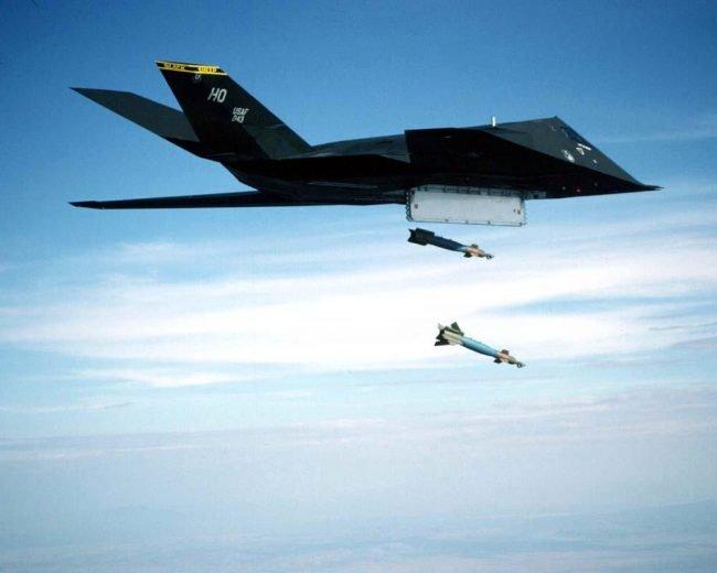 F 117 Nighthawk bomby